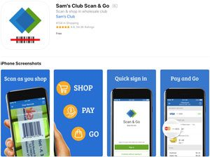 Scan & Go アプリ