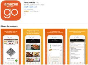 AMAZON Go アプリ