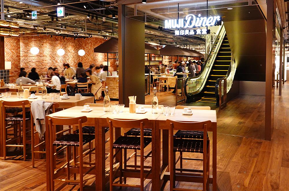 MUJI Diner 無印良品 食堂 銀座 オープン!