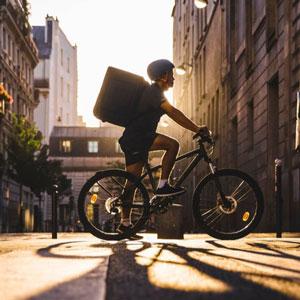 デリバリー自転車