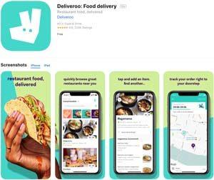 Deliverooアプリ